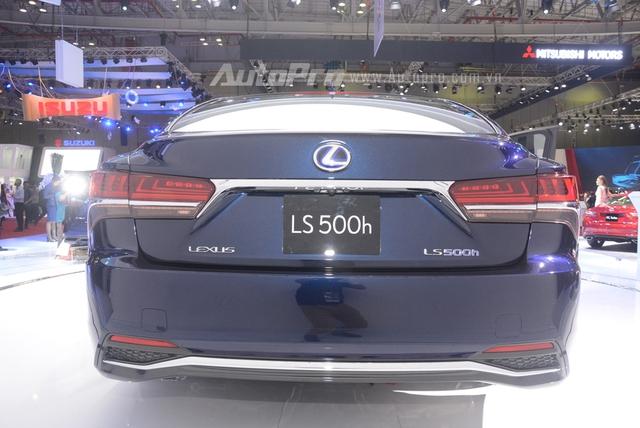 Khám phá Lexus LS 500h 2018, ngập tràn công nghệ, thiết kế đẹp mắt, tiết kiệm nhiên liệu - Ảnh 4.