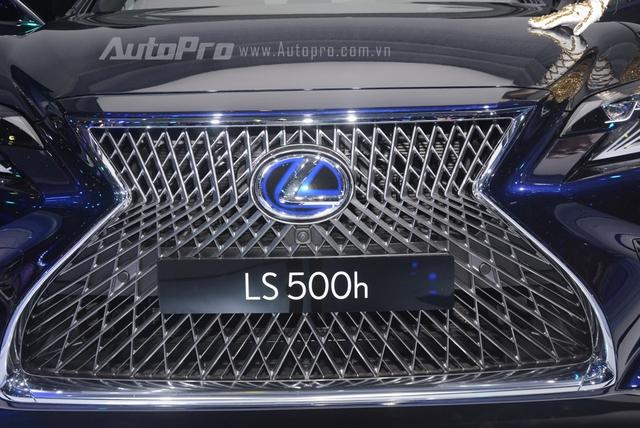 Khám phá Lexus LS 500h 2018, ngập tràn công nghệ, thiết kế đẹp mắt, tiết kiệm nhiên liệu - Ảnh 6.