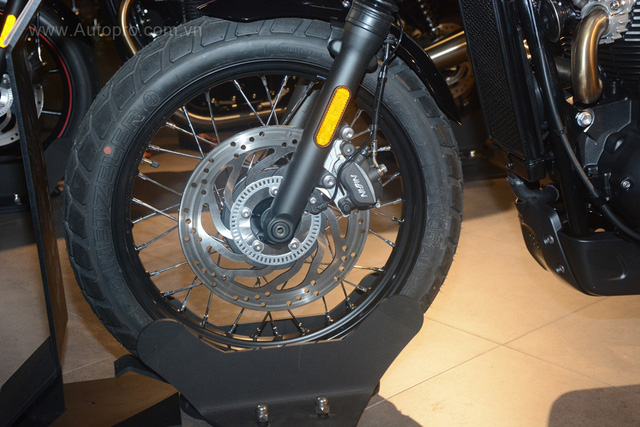Chi tiết Triumph Street Scrambler giá 365 triệu Đồng, đối thủ nặng ký của Ducati Scrambler tại Việt Nam - Ảnh 12.