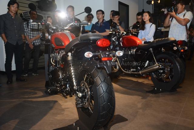 Chi tiết Triumph Street Scrambler giá 365 triệu Đồng, đối thủ nặng ký của Ducati Scrambler tại Việt Nam - Ảnh 4.