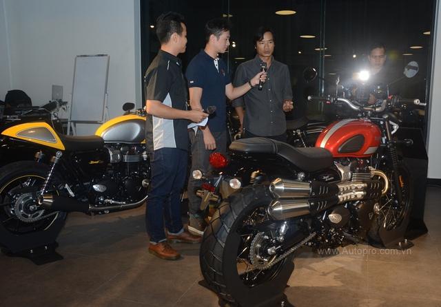 Chi tiết Triumph Street Scrambler giá 365 triệu Đồng, đối thủ nặng ký của Ducati Scrambler tại Việt Nam - Ảnh 3.