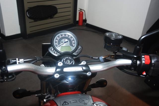 Chi tiết Triumph Street Scrambler giá 365 triệu Đồng, đối thủ nặng ký của Ducati Scrambler tại Việt Nam - Ảnh 7.