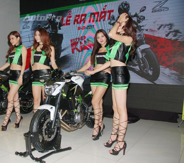Cặp đôi Kawasaki Z900 và Z650 2017 ra mắt Việt Nam, giá từ 218 triệu Đồng - Ảnh 5.