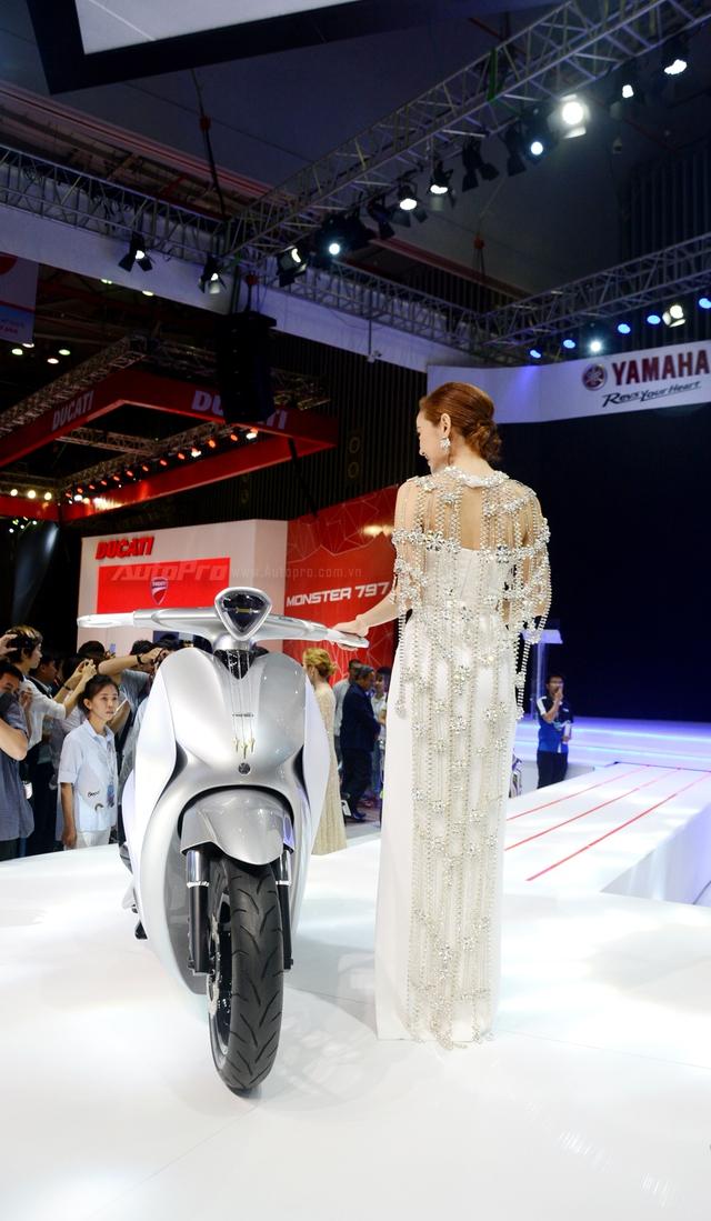 Yamaha Glorious - Xe concept mang âm hưởng nhạc cụ độc đáo - Ảnh 17.