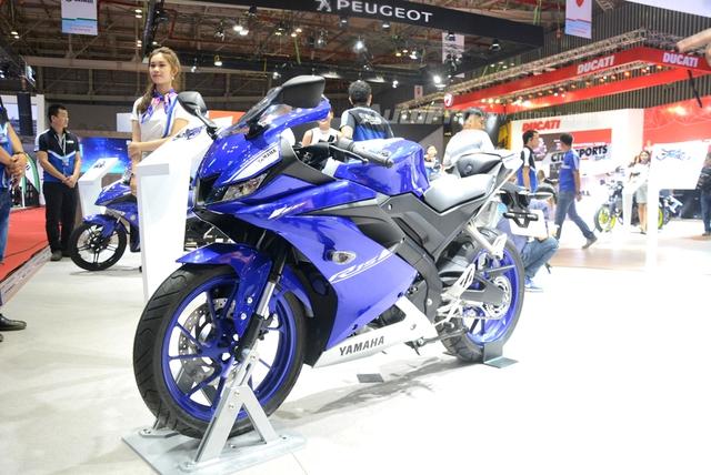 TRỰC TIẾP: Yamaha đem dàn xe khủng đến triển lãm VMCS 2017, điểm nhấn là mẫu concept Glorious - Ảnh 3.