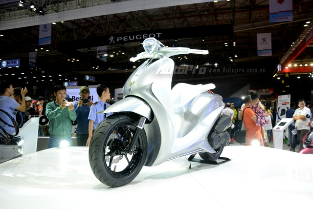 Yamaha Glorious - Xe concept mang âm hưởng nhạc cụ độc đáo - Ảnh 8.