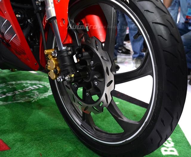 Đấu cùng Yamaha Exciter, Benelli bất ngờ ra mắt xe côn tay 150 phân khối mới tại Việt Nam - Ảnh 13.