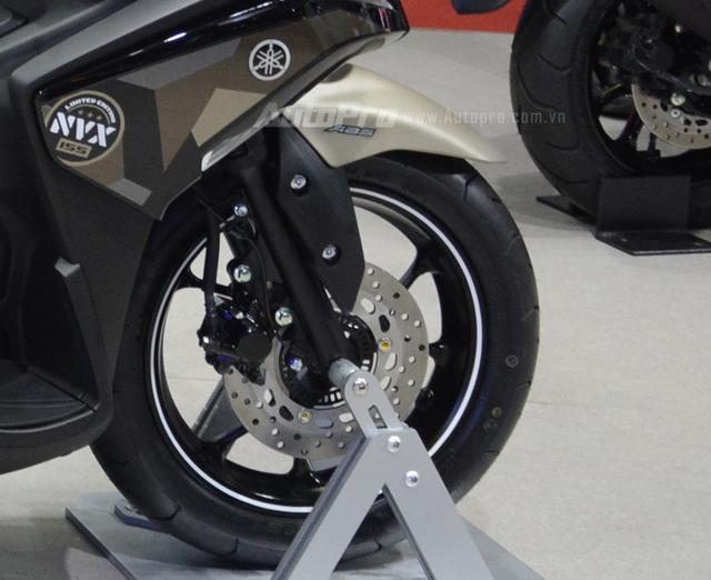 Yamaha trình làng NVX 155 bản giới hạn, khác biệt từ màu sơn và giảm xóc sau - Ảnh 12.