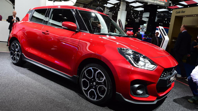 Suzuki Swift Sport 2018 nặng chưa đến 1 tấn chính thức trình làng