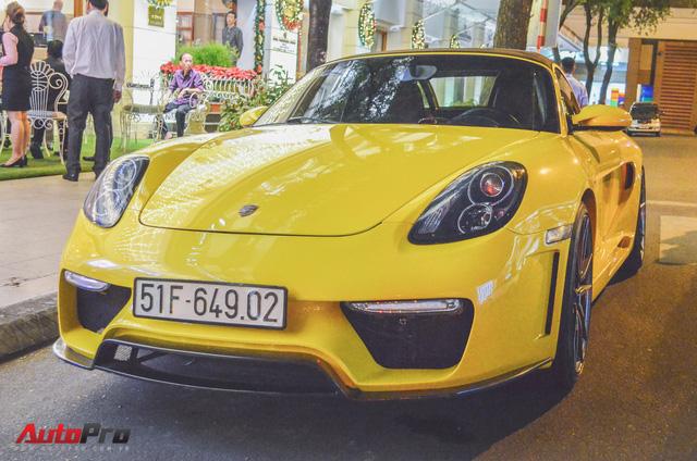 Porsche Boxster khoác áo 918 Spyder tại Sài Gòn - Ảnh 1.