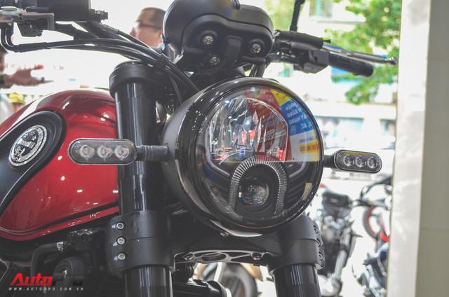 Chi tiết Benelli Leoncino rẻ bằng một nửa Ducati Scrambler Sixty2 vừa về Việt Nam - Ảnh 9.