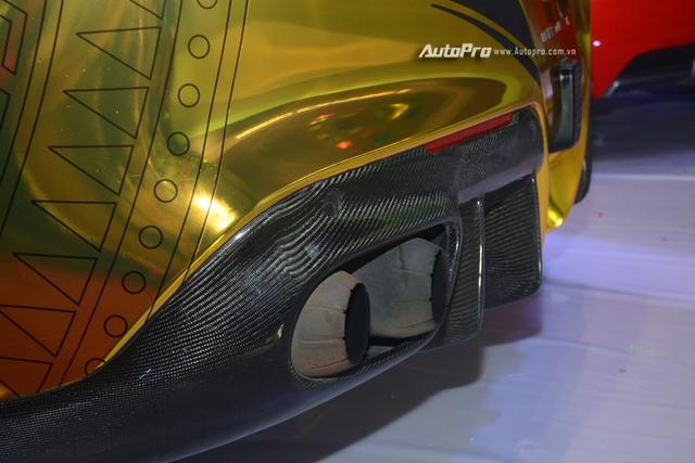 Ferrari F12 Berlinetta từng của Cường Đô-la được hóa thành ngựa vàng trưng bày tại VIMS 2017 - Ảnh 11.