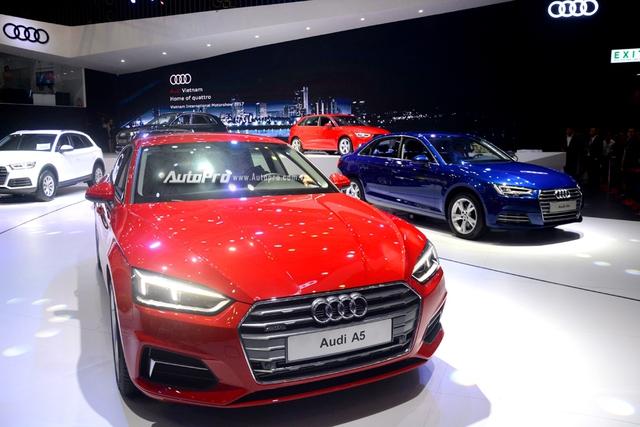 Á hậu Dương Tú Anh khoe nhan sắc lộng lẫy tại gian hàng Audi - Ảnh 14.