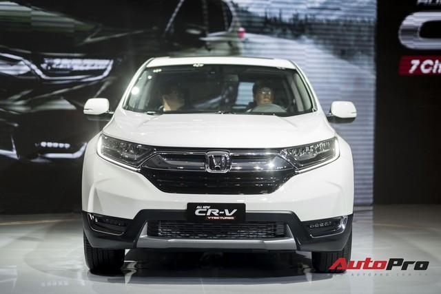 Cận cảnh Honda CR-V 2018 phiên bản cao cấp nhất vừa ra mắt Việt Nam - Ảnh 1.