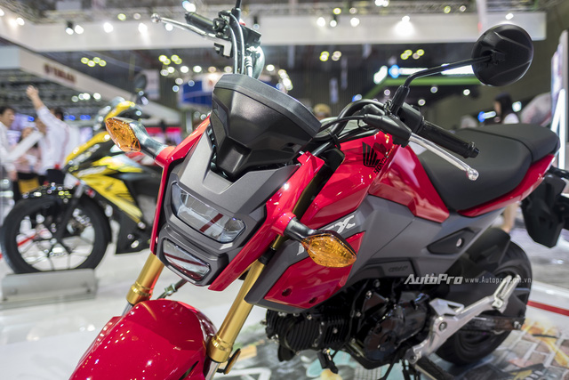 Cận cảnh Honda MSX mới vừa được ra mắt tại VMCS 2017 - Ảnh 2.