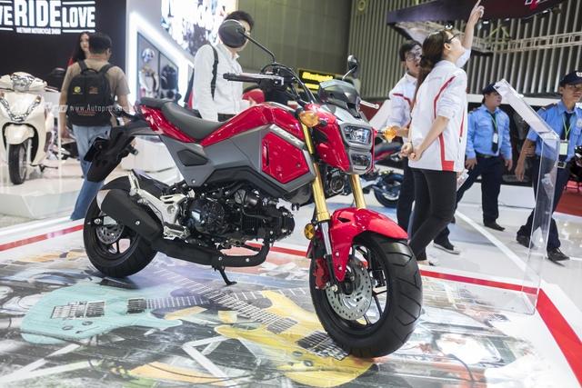Cận cảnh Honda MSX mới vừa được ra mắt tại VMCS 2017 - Ảnh 1.