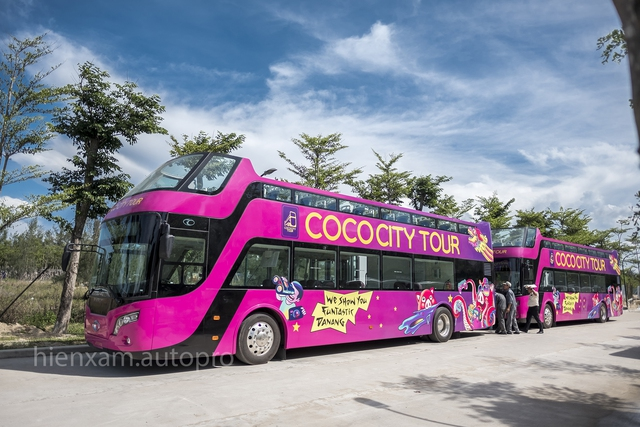 Xe buýt 2 tầng chính thức được bàn giao tại Đà Nẵng - Ảnh 3.