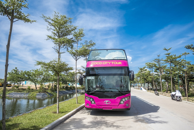 Khám phá và trải nghiệm xe buýt 2 tầng mới được bàn giao tại Đà Nẵng - Ảnh 1.