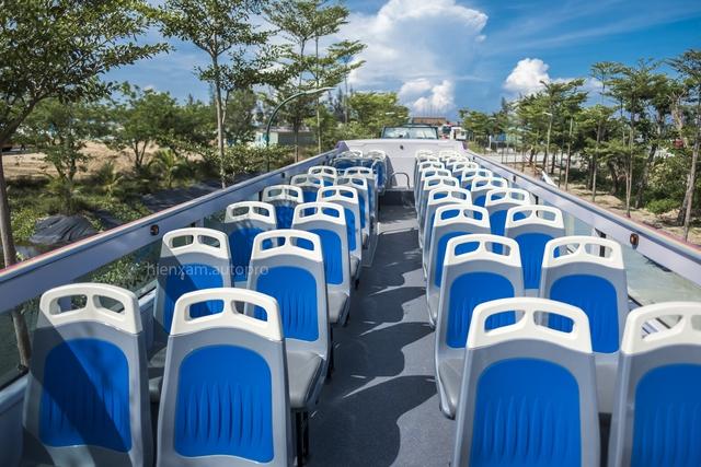 Khám phá và trải nghiệm xe buýt 2 tầng mới được bàn giao tại Đà Nẵng - Ảnh 9.
