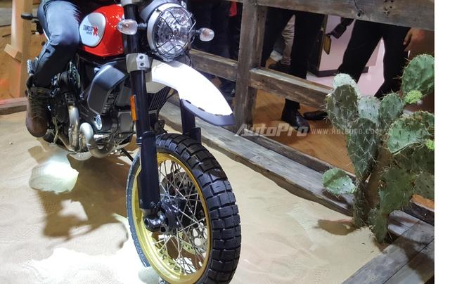 Chi tiết Ducati Scrambler Desert Sled 2017 giá 429 triệu Đồng tại Việt Nam - Ảnh 8.