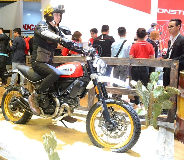 Chi tiết Ducati Scrambler Desert Sled 2017 giá 429 triệu Đồng tại Việt Nam - Ảnh 1.