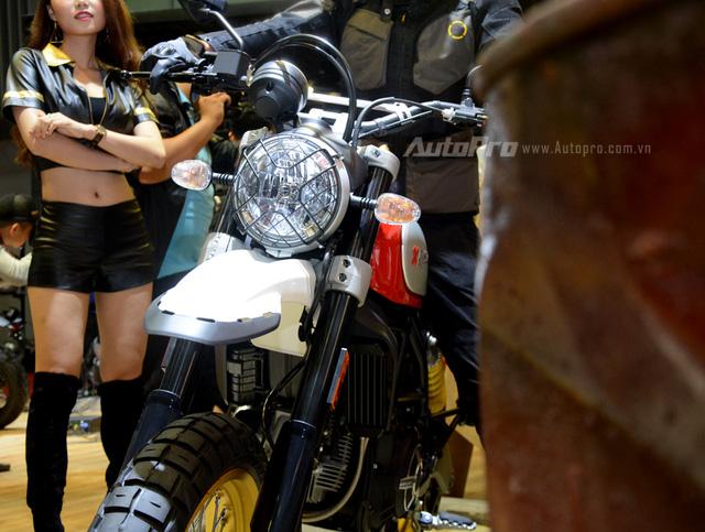 Chi tiết Ducati Scrambler Desert Sled 2017 giá 429 triệu Đồng tại Việt Nam - Ảnh 6.