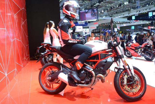 Chi tiết Ducati Monster 797 2017 tại thị trường Việt Nam, giá từ 388 triệu Đồng  - Ảnh 2.