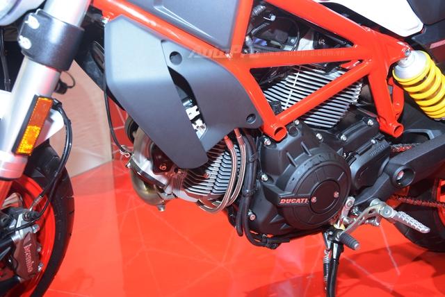 Chi tiết Ducati Monster 797 2017 tại thị trường Việt Nam, giá từ 388 triệu Đồng  - Ảnh 8.