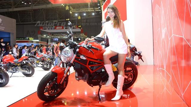 Chi tiết Ducati Monster 797 2017 tại thị trường Việt Nam, giá từ 388 triệu Đồng