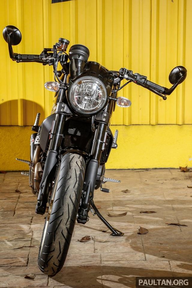 Sau Việt Nam, Ducati mang cặp đôi Scrambler Desert Sled và Café Racer đến Malaysia - Ảnh 7.