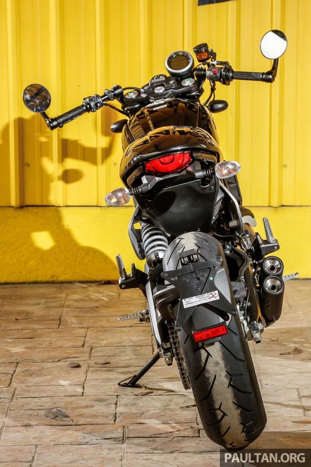 Sau Việt Nam, Ducati mang cặp đôi Scrambler Desert Sled và Café Racer đến Malaysia - Ảnh 8.
