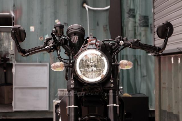 Cận cảnh Ducati Scrambler phiên bản Café Racer tại Việt Nam - Ảnh 10.