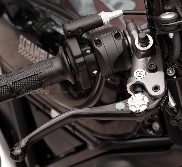 Cận cảnh Ducati Scrambler phiên bản Café Racer tại Việt Nam - Ảnh 14.