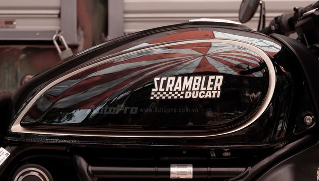 Cận cảnh Ducati Scrambler phiên bản Café Racer tại Việt Nam - Ảnh 9.