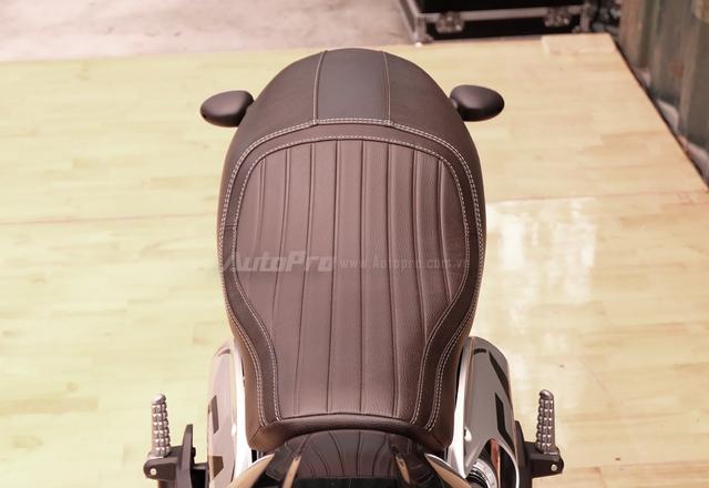 Cận cảnh Ducati Scrambler phiên bản Café Racer tại Việt Nam - Ảnh 7.