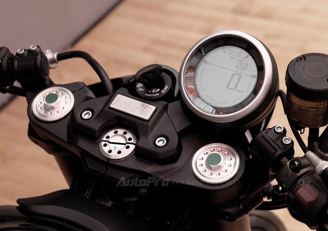 Cận cảnh Ducati Scrambler phiên bản Café Racer tại Việt Nam - Ảnh 11.