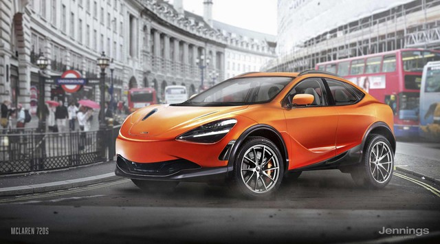 Sẽ ra sao nếu các hãng xe thể thao học theo Lamborghini sản xuất SUV? - Ảnh 1.