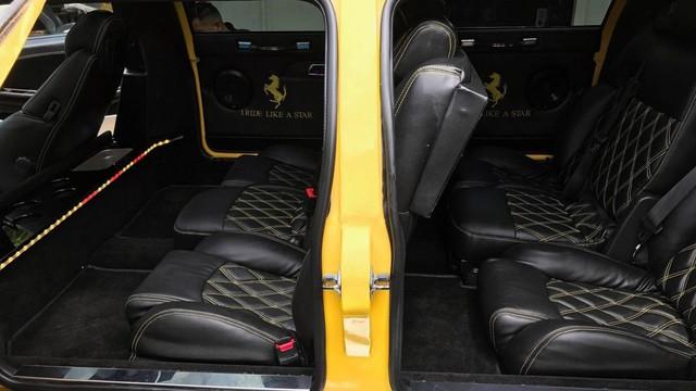 Siêu xe Ferrari độ limousine 7 chỗ siêu dài  - Ảnh 8.