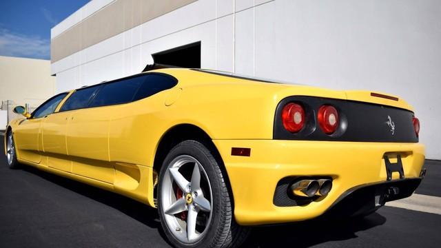 Siêu xe Ferrari độ limousine 7 chỗ siêu dài  - Ảnh 5.