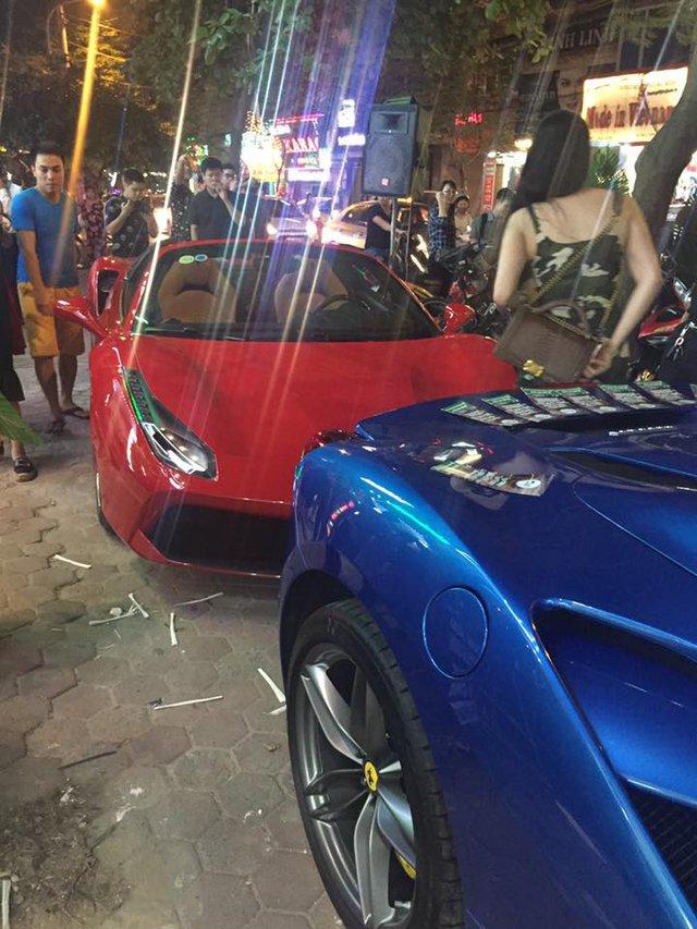 Cặp đôi Ferrari 488 mui trần đọ dáng cùng nhau trên phố Hà thành - Ảnh 5.