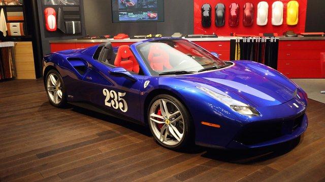 Siêu xe Ferrari 488 mui trần lại có ấn phẩm đặc biệt mới - Ảnh 1.