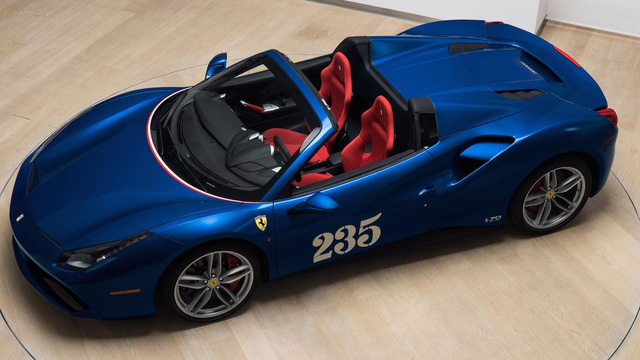 """Siêu xe Ferrari 488 mui trần lại có """"ấn phẩm"""" đặc biệt mới"""