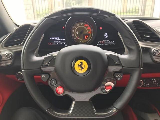 Ferrari 488 Spider có giá rao bán hơn 10 tỷ Đồng tại Campuchia, đại gia Việt phát thèm - Ảnh 5.