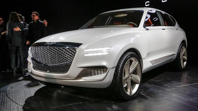 Genesis GV80 - SUV cao cấp cỡ lớn đến từ Hàn Quốc