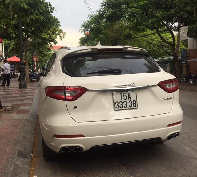 Hàng hiếm Maserati Levante S của dân chơi Hải Phòng đeo biển số VIP - Ảnh 2.