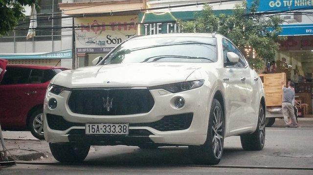 Hàng hiếm Maserati Levante S của dân chơi Hải Phòng đeo biển số VIP - Ảnh 1.