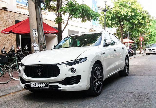 Hàng hiếm Maserati Levante S của dân chơi Hải Phòng đeo biển số VIP - Ảnh 3.