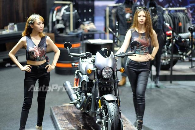 TRỰC TIẾP: Harley-Davidson mang hàng khủng Street Rod 2017 và Street Glide tới VMCS 2017 - Ảnh 2.