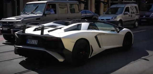 Xem sao bóng đá Franck Ribéry lái Lamborghini Aventador SV Roadster mới tậu - Ảnh 4.