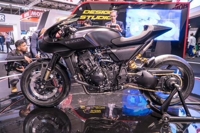 Chiêm ngưỡng vẻ đẹp của Honda CB4 Interceptor - xe café racer đến từ tương lai - Ảnh 8.